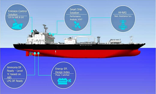 20211014iino 520x315 - 飯野海運/三井物産とアンモニア運搬船の定期用船契約