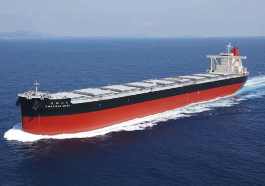 20211014namura 520x365 - 名村造船所/18.2万トン型ばら積み運搬船を引き渡し
