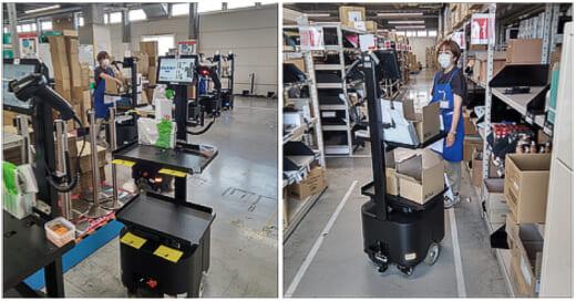20211014rapyuta1 520x272 - ラピュタロボティクス/AMRが佐川GLの堺SRC倉庫で採用