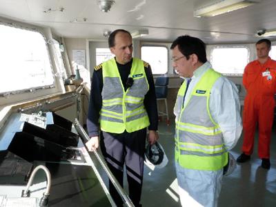 20110209nyk - 日本郵船/冬季安全推進キャンペーン「SAIL ON SAFETY」実施
