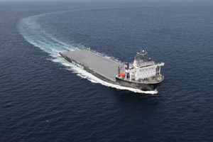 20110315yamatai - 日本郵船/被災地への物資供給用の洋上基地としてモジュール船投入