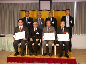 20110330yusen - 日本郵船/海洋地球研究船「みらい」初代船長に水路業務功績者表彰