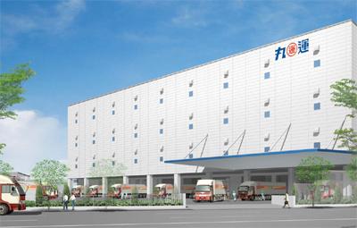20110428maruun - 丸運/京浜島に新物流センター建設、50億円投資