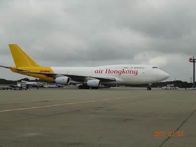 20110704dhl1 - DHL/B747-400型BCF機を成田-香港間で使用開始