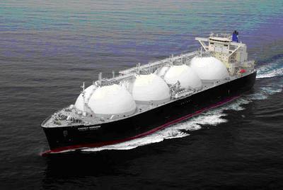 20110706NYK - 日本郵船/新造LNG運搬船「エネルギーホライズン」