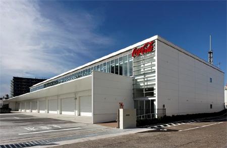 20110727coka - コカ・コーラセントラル/横浜市に営業物流拠点稼働