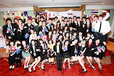20110905fedex - フェデックス/2011年インターナショナル・トレード・チャレンジ入賞者を発表