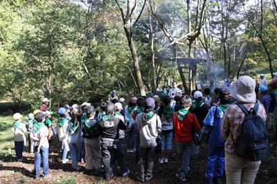 20111111sagawa - 佐川急便/高尾で小学生の自然体験学習を実施