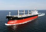 20111121mitsui - 三井造船/5万6000重量トン型ばら積み貨物運搬船引き渡し