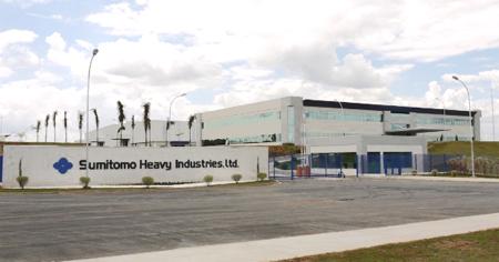 20111125sumitomo - 住友重機械/ブラジルの新工場開所