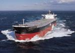 20120117mitsui - 三井造船/11万重量トン型ばら積み貨物運搬船引き渡し