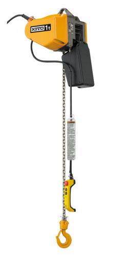 20120123kito - キトー/電気チェーンブロック EQ開発・発売